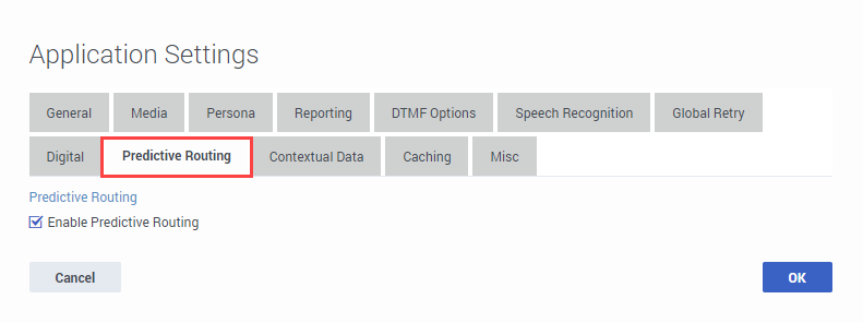 Des application settings predictive routing.png